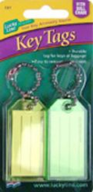 10102: ID TAG W/B CHAIN,ASSORTED,2/CD