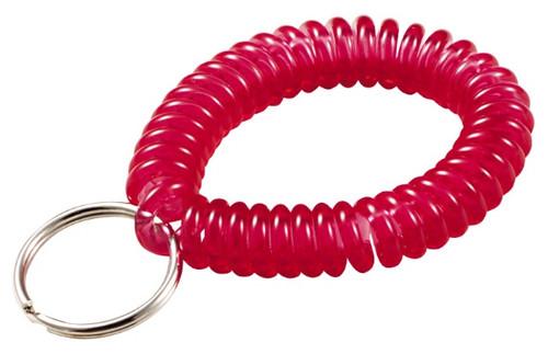 41028: WRIST COIL W/RING,NEON,50/JAR
