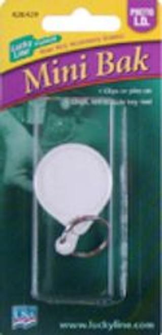 42801: MINI-BAK BADGE HLDR,CLIP,1/CD