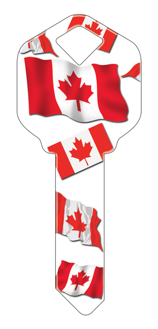 HK28- Canadian Flag