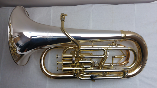 Adams E2 Euphonium with Sterling Silver Bell and Tuning Adjustment Trigger