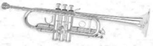 Trumpet C, Model 3136 JH in Lacquer by B&S