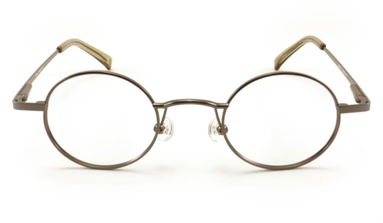 John Lennon JL 260 Mens Eyeglass Frame - Antique Pewter