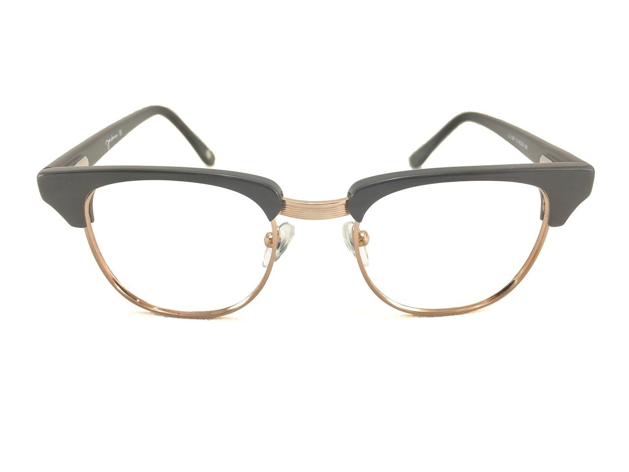 John Lennon JL13 Eyeglass Frame - Black/Gold