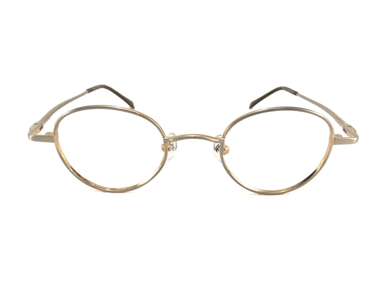 John Lennon Imagine Eyeglass Frame - Silver Gold