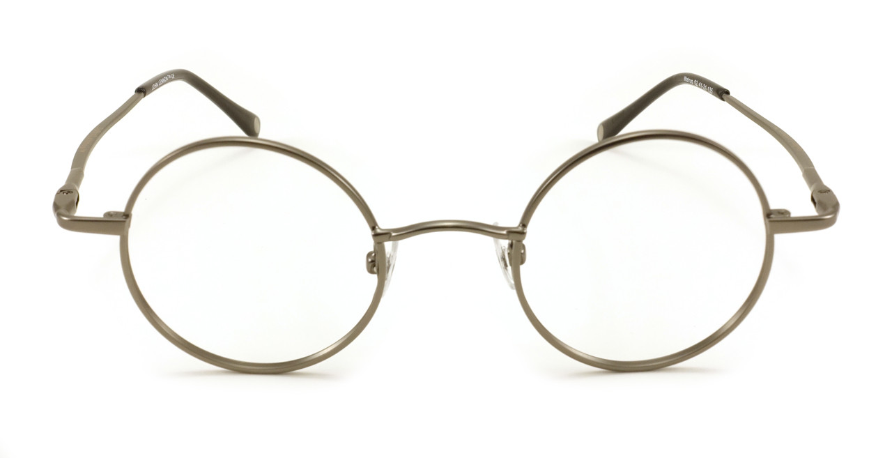 John Lennon Walrus Eyeglass Frames - Antique Pewter