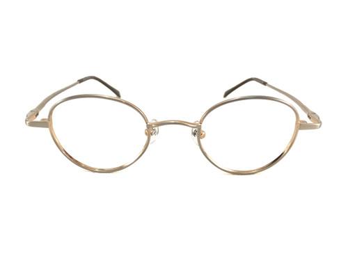 John Lennon Imagine Eyeglass Frame - Silver Gold