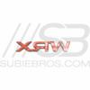 WRX Trunk Badge