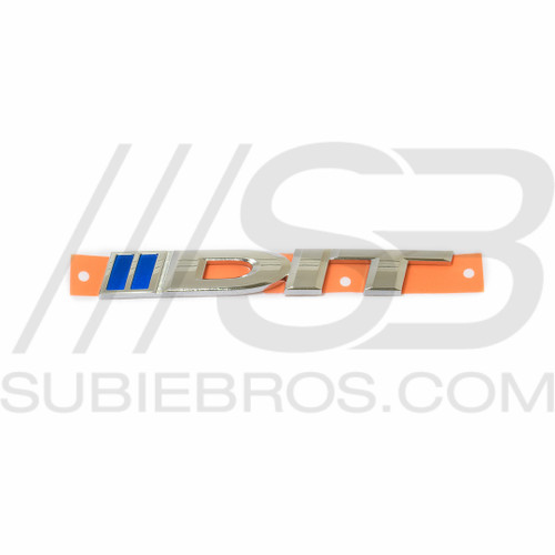 Subaru JDM DIT Badge