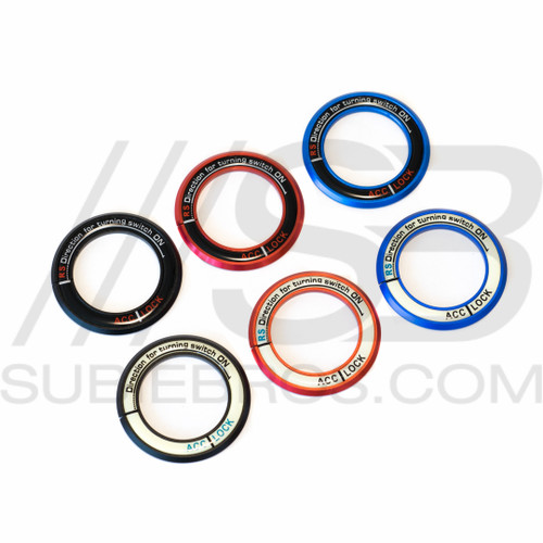 Subaru Ignition Rings