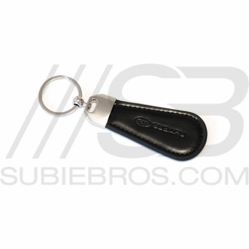 Leather Subaru Key Chain