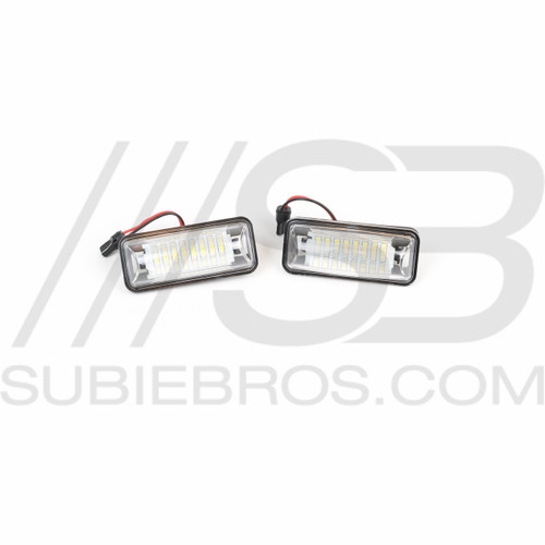 SubieBros LED License Plate Lights
