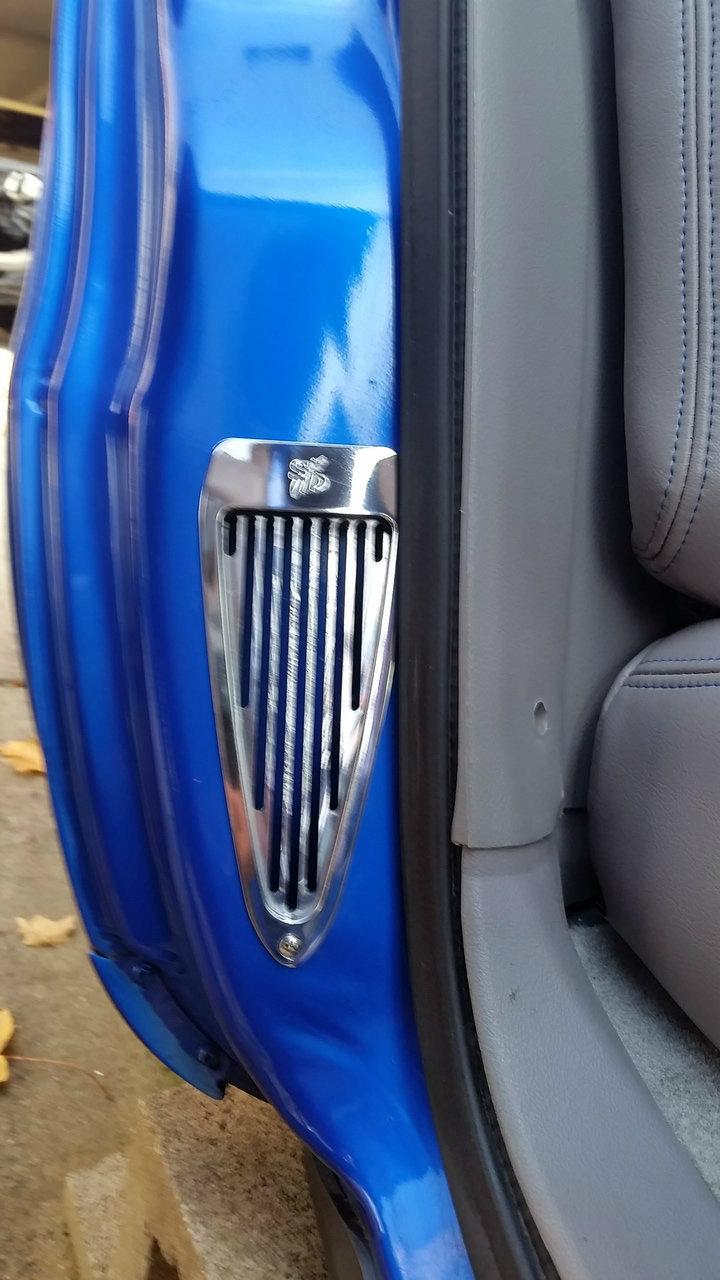 car door jamb. B-Body (Bubble) Custom Billet Door Jamb Vents 91-96 Car H