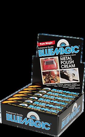 100-12   Metal Polish Box Tube Display