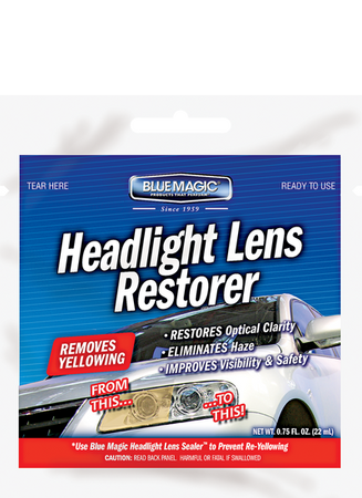 725PK | Headlight Lens Restorer