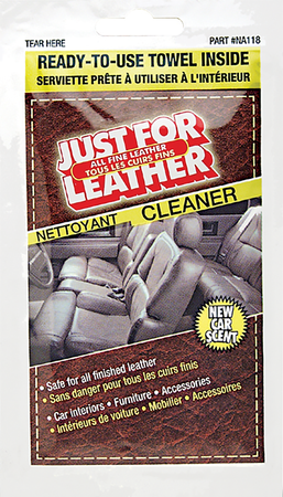 NA118 | Just For Leather Cleaner Towelette
