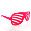 Hot Pink All Plastic Grill Lens Sunglasses