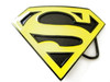 """Superman belt buckle-Black& Yellow"