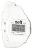 """Neff The Flava Watch in White"