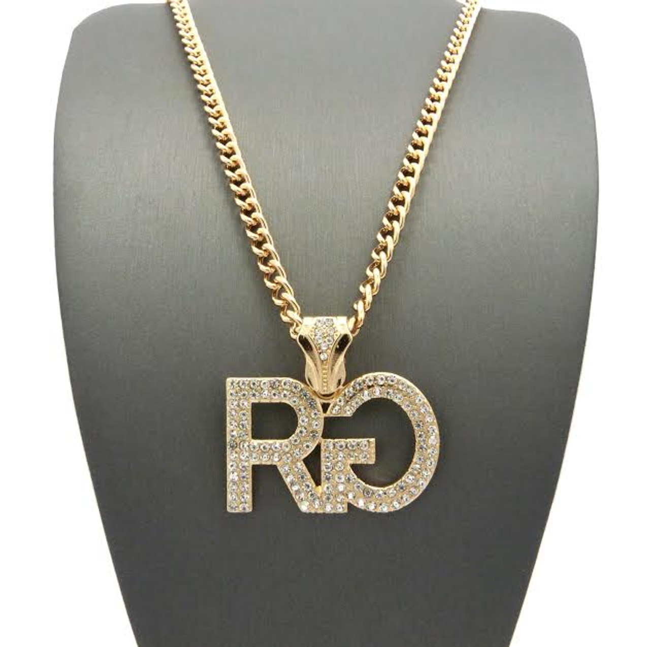 Rg hip hop pendant fully iced out wfree 36 chain the black bat rg hip hop pendant fully iced out wfree 36 chain aloadofball Choice Image