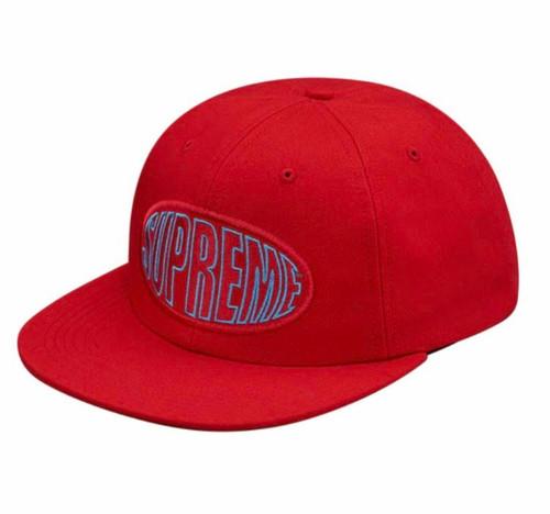 Supreme Warp 6-Panel Red hat