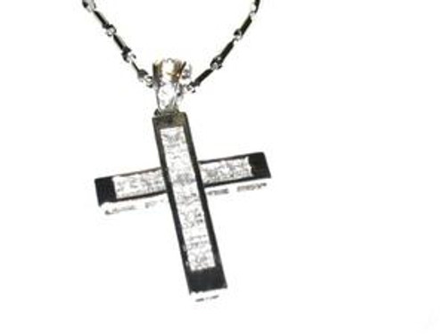 ICED OUT CROSS PENDANT & CHAIN COMBO!