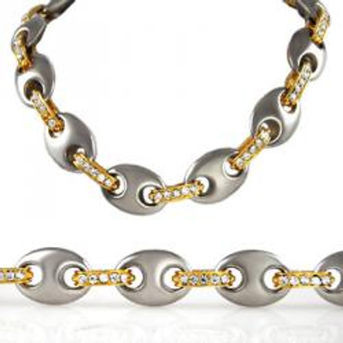 Gucci Chain Gold 14 mm 36 inches