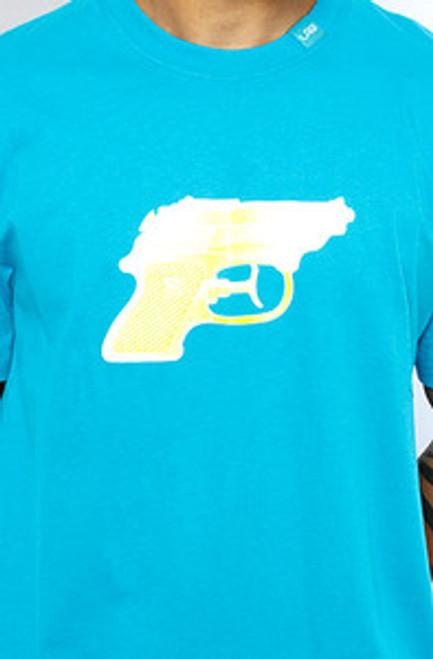 LRG Gun Blue WaterPistol   T-Shirt  XL Only!!  Limited!