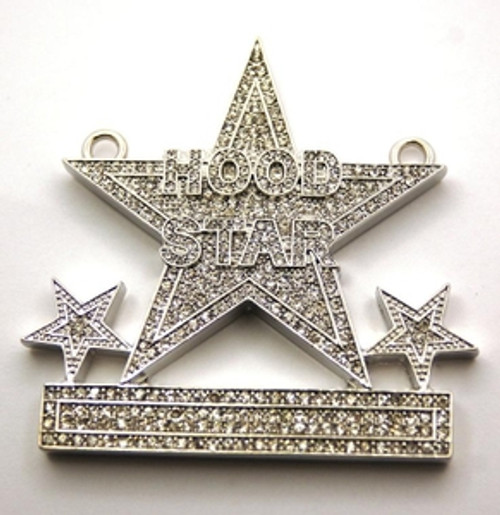 Hood star iced out silver custom pendant free 36 franco chain the hood star iced out silver custom pendant free 36 franco chain aloadofball Gallery
