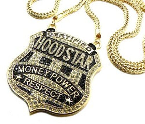 Hoodstar money power respect gold pendant combo the black bat hoodstar money power respect gold pendant combo mozeypictures Image collections