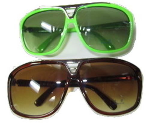 """WIZ KHALIFA Rapper Celebrity Sunglasses Tortose/NEON 2 Pack"