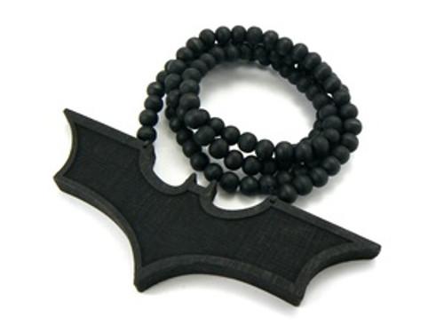 """TDKR-Good Wood Black Bat w/FREE Bead chain"