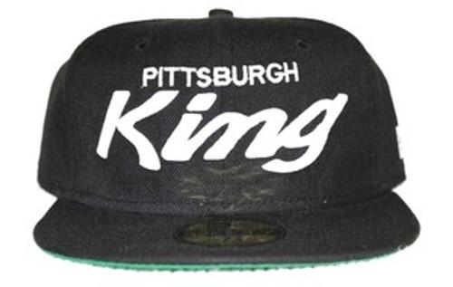 """""""Original Pittsburgh King Cap-Black & White"""