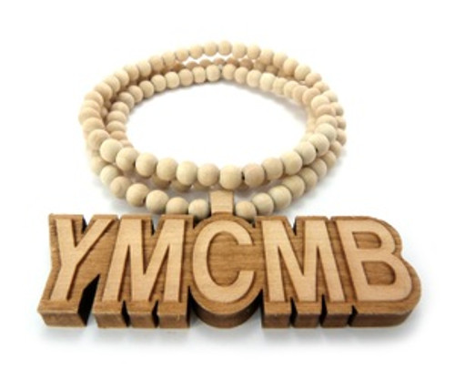 """1-YMCMB Good Wood Pendant & Necklace"