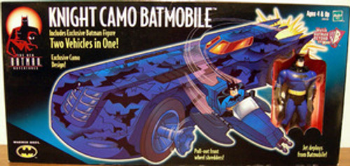 """The New Batman Adventures Animated Series-Knight Camo Batmobile w/Batman MISB"