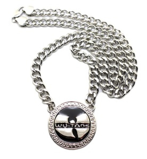 1 wu tang silver pendant wfree 36 chain the black bat 1 wu tang silver pendant wfree 36 chain aloadofball Images