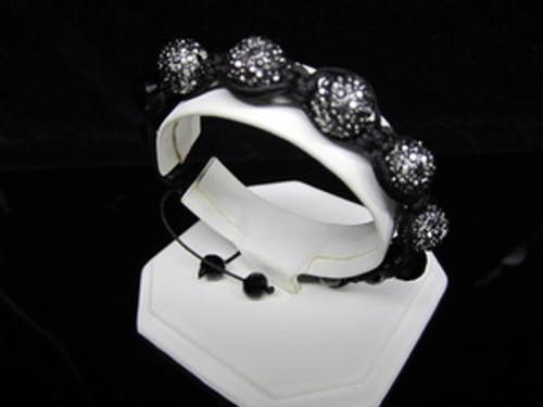"""GOTHAM BLACK DIAMOND WOMAN Shambhala Bracelet/REG.$160"