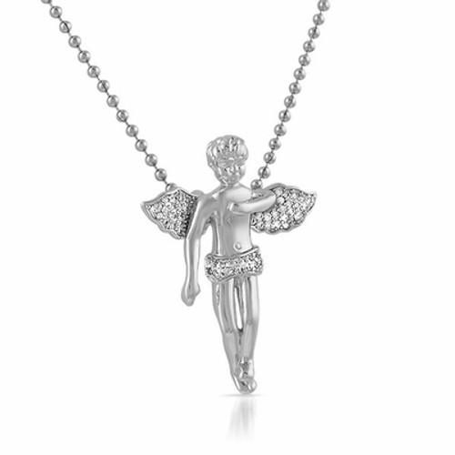Cherub Angel Pendant/ Silver w/FREE Chain! HOT Gift item!