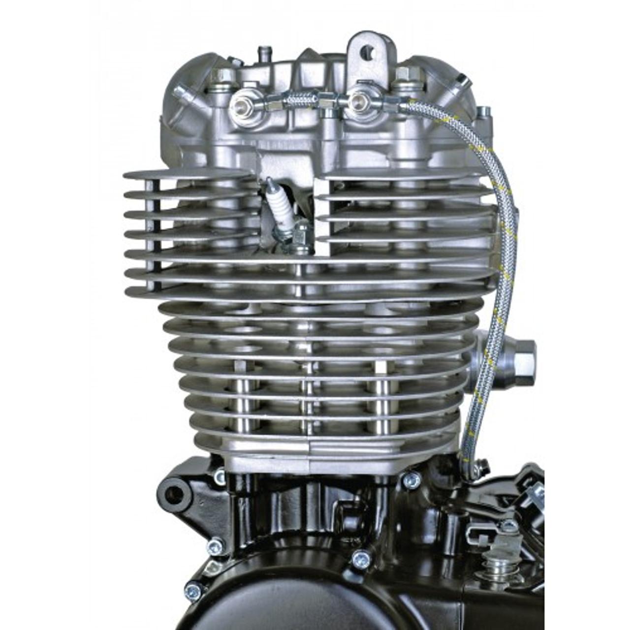 Oil Line Kit Twin Feed 'RaceLine' Braided Stainless SR400 SR500 TT500 XT500
