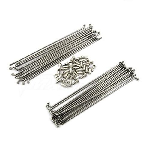 """Spoke Set Front Stainless Steel 21"""" TT350, TT600 '85-'92"""