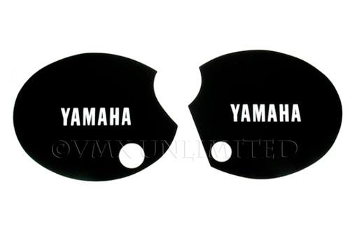 "Side Panel Decal Set XT500 76-79 Black ""YAMAHA"""