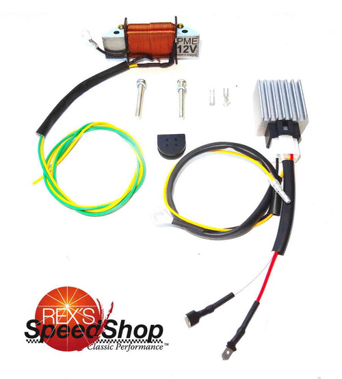 12 Volt Conversion Kit DT250 DT360 & DT400