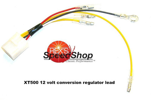 Wiring Loom for 12 Volt Conversion Regulator  XT500