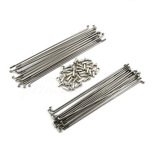 "Spoke Set Front Stainless Steel 21"" XT600E/K"