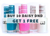 Buy 10 Daisy Duo Gel Polish and Get 1 FREE
