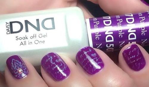 Daisy Gel Polish Neon Purple 1507 - Esther\'s Nail Center