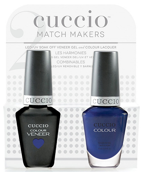 Cuccio Match Makers Gel Polish Lauren BluCall