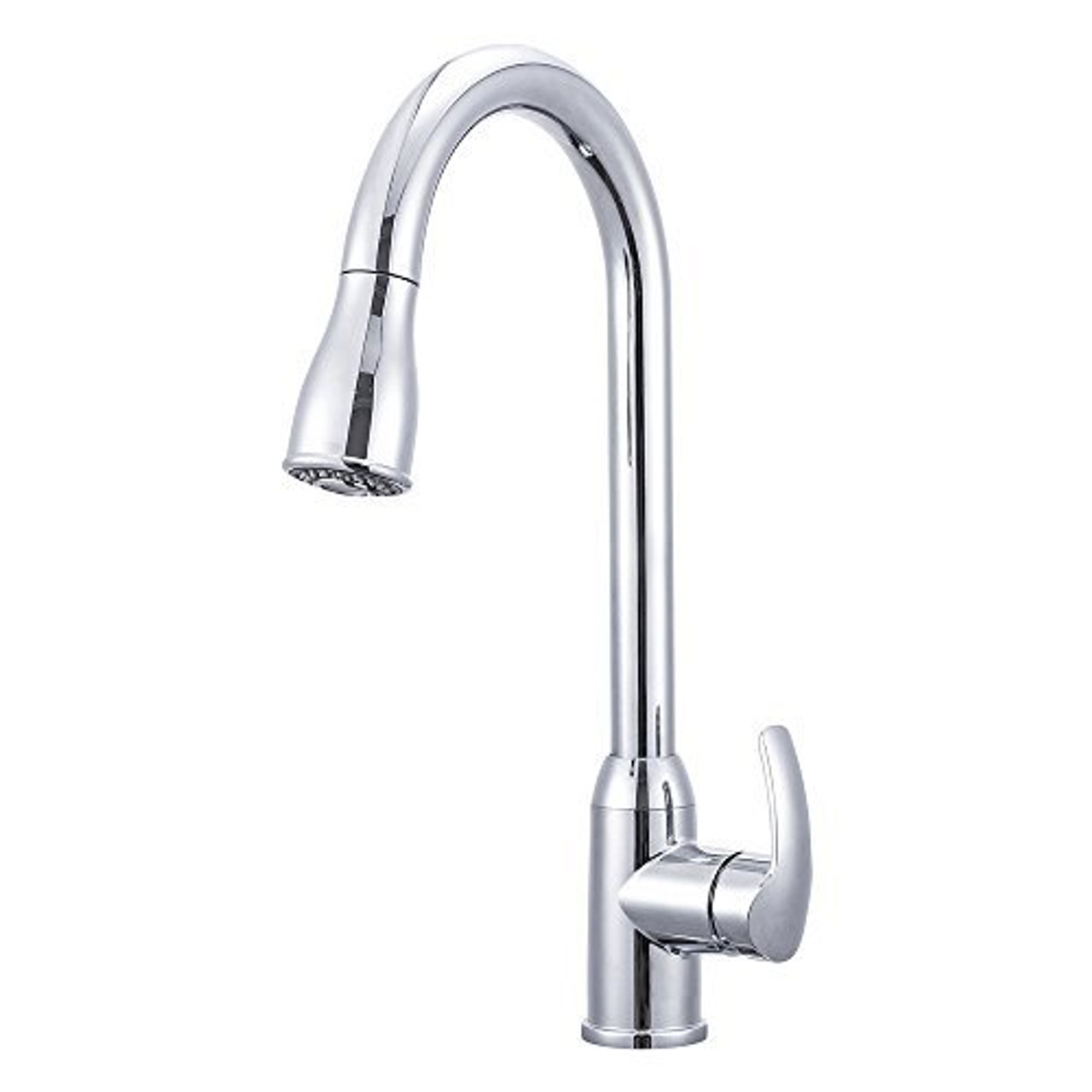 Heavy Duty Single Lever Pull-Down RV Kitchen Faucet - RVFaucet.com