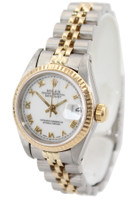 Rolex Two Tone Datejust - 26mm - White Roman Dial - Jubilee Bracelet - Ref. 69713