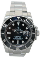 Rolex Oyster Perpetual Submariner Date - 40mm - Stainless Steel - Black Ceramic Bezel - Black Dial - Ref. 116610